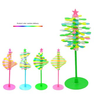Baby Creative Puzzle Helicone Magic Wand Plastic Stress Relief DIY Rotating Toy