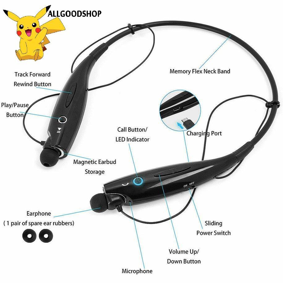 Tai Nghe Bluetooth Đeo Cổ Tiện Dụng Khi Tập Thể Thao