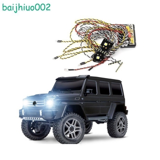 For 1/10 Simulation Climbing Car TRAXXAS TRX-4 G500 Special Lights TRX4 G500 Linkage Light Group Headlights Roof Lights