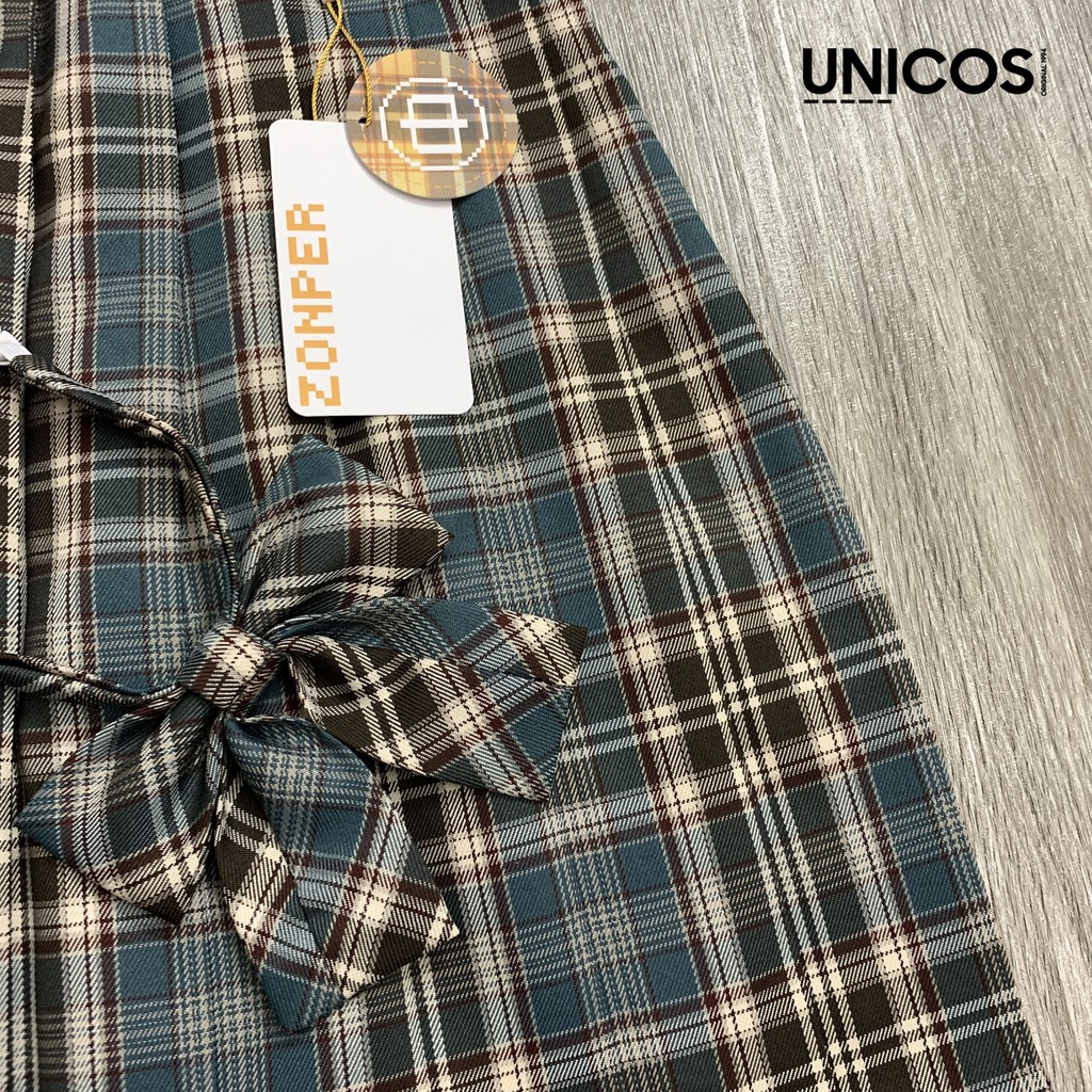 Váy JK kèm nơ chính hãng ZONPER Afternoon tea (có sẵn)