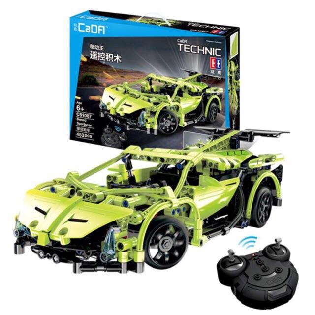 Lego Technic C51007W- Xe thể thao động cơ pin sạc điều khiển từ xa