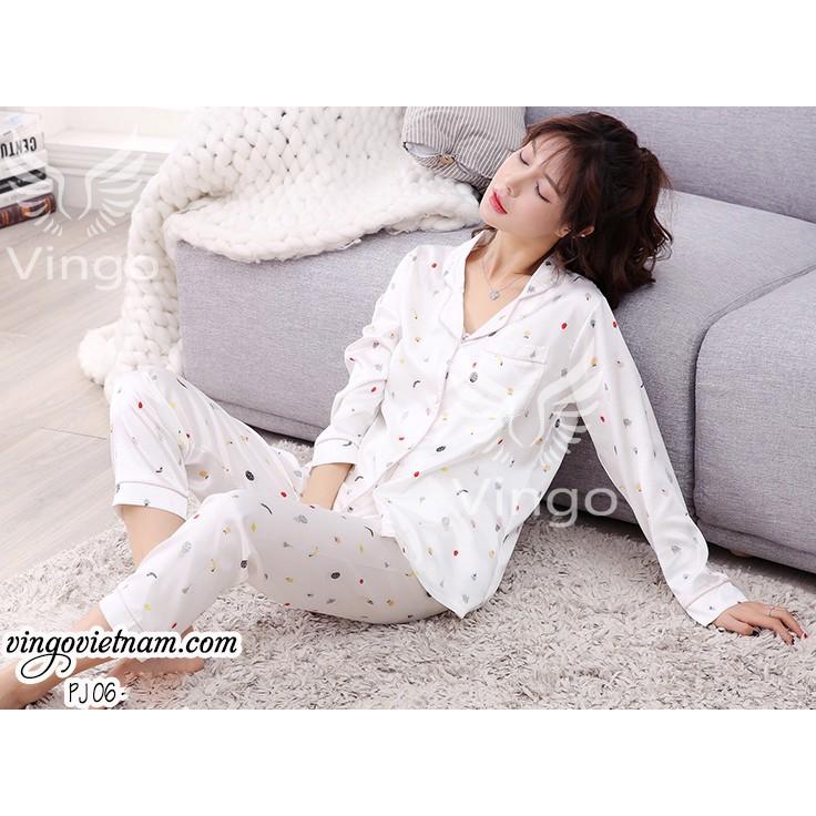 Bộ đồ ngủ cao cấp pijama họa tiết trái cây, hàng thiết kế, thương hiệu Vingo - 3094028 , 734264824 , 322_734264824 , 725000 , Bo-do-ngu-cao-cap-pijama-hoa-tiet-trai-cay-hang-thiet-ke-thuong-hieu-Vingo-322_734264824 , shopee.vn , Bộ đồ ngủ cao cấp pijama họa tiết trái cây, hàng thiết kế, thương hiệu Vingo
