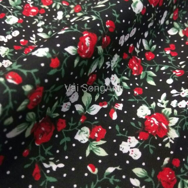 vải hoa nhí