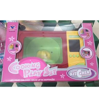 Đồ chơi lò vi sóng trẻ em size LỚN chất liệu an toàn cho bé