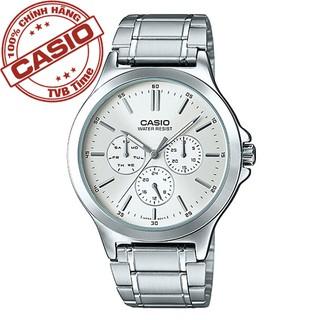 Đồng hồ nam dây thép không gỉ Casio Standard chính hãng Anh Khuê MTP-V300D-7AUDF