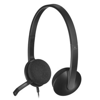 Tai nghe chụp tai Logitech H340 (Đen)