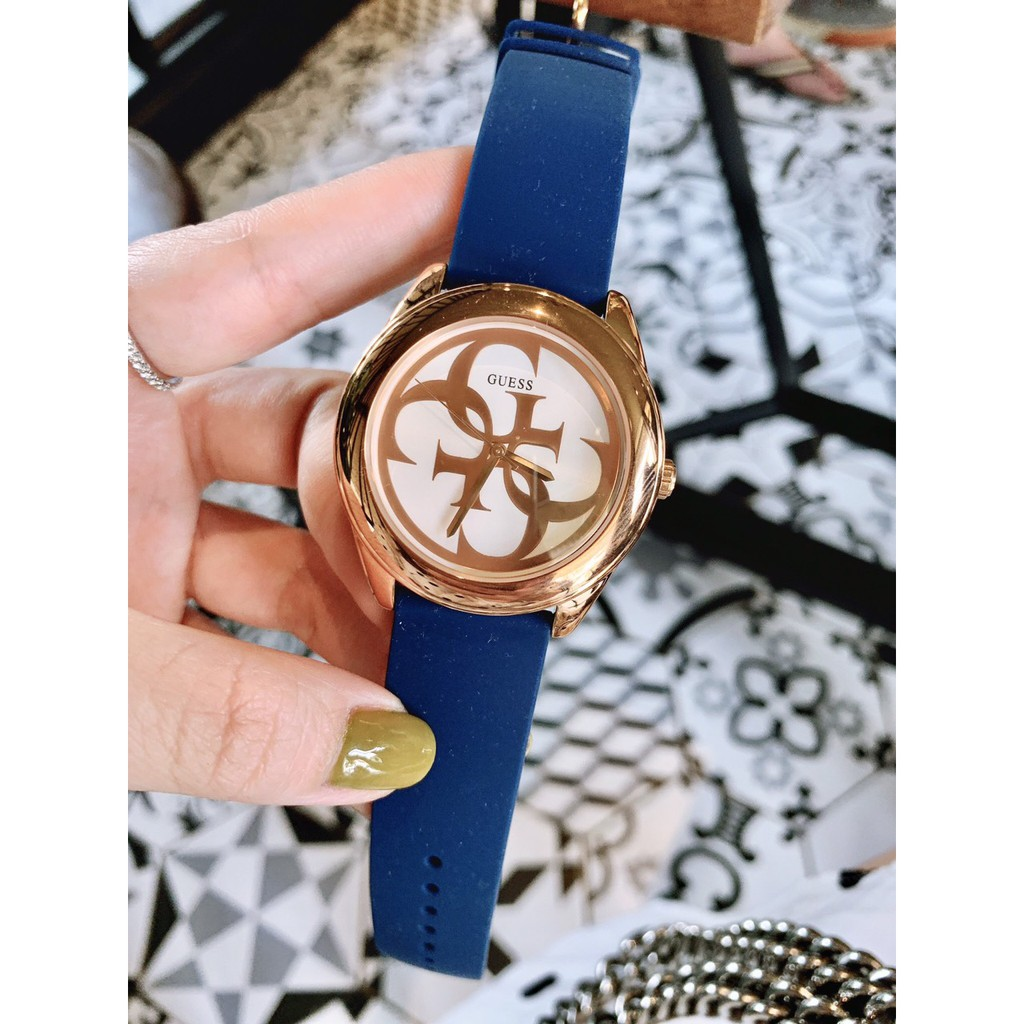 đồng hồ nữ Gu.ess size 36mm dây silicone