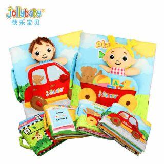 Sách cô bé cậu bé búp bê theo chủ đề của Jolly baby