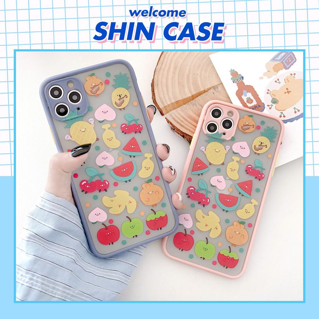 Ốp lưng iphone Hoa quả dầm 5s/6/6plus/6s/6s plus/6/7/7plus/8/8plus/x/xs/xs max/11/11 pro/11 promax – Shin Case