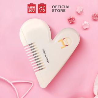 Lược chỉnh tóc Miniso hình tim - Hàng chính hãng thumbnail