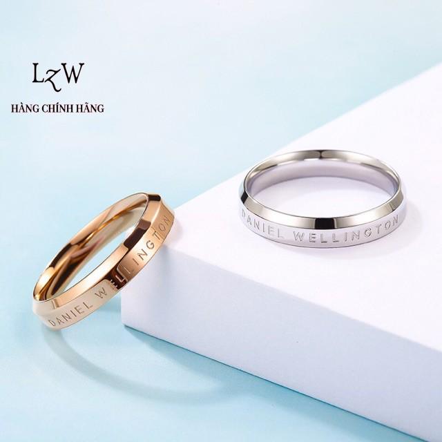 Nhẫn Daniel Wellington Classic DW Ring cặp đôi nam nữ hàng chính hãng - Lyz watch