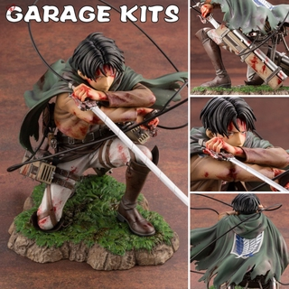 Attack on Titan Levi Ackerman PVC Figure Anime Action Figure Model Toy