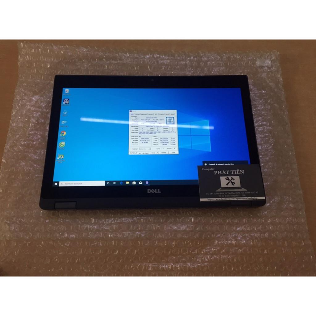 Laptop Dell Lalitude 5289 2 in 1 Cpu I5 7300U, Ram 8G, SSD 128G, MH 12.5'' FULL HD, Cảm ứng xoay gập 360