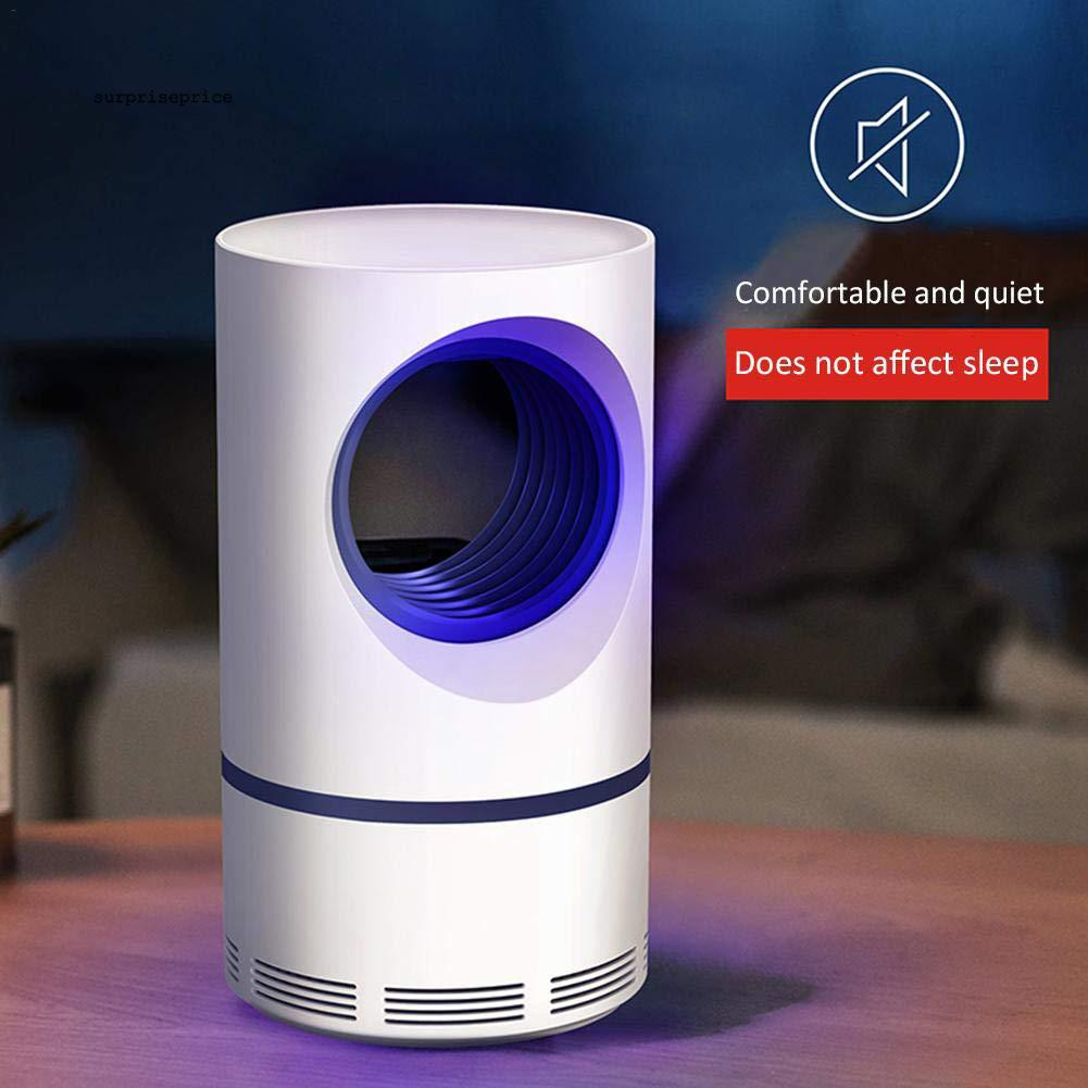 Bộ đèn bẫy côn trùng thông minh không gây ồn+ phụ kiện kèm theo