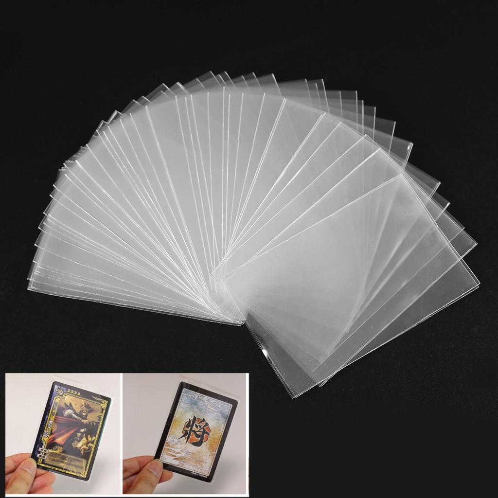 100 vỏ bọc bảo vệ thẻ bài Tarot chất liệu trong suốt tiện lợi