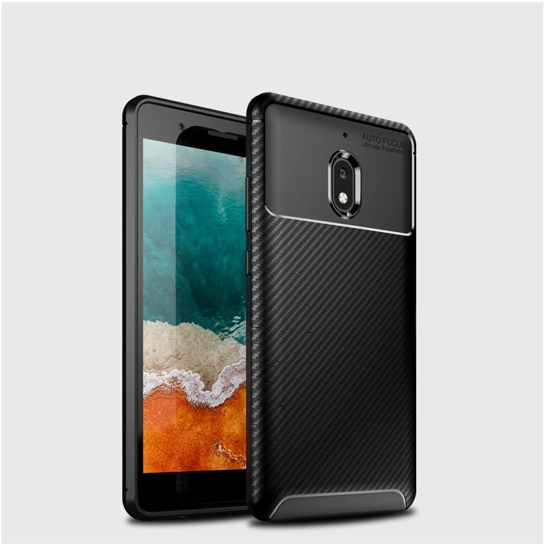For Nokia 2.1 carbon fiber ultra-thin anti-fall soft case