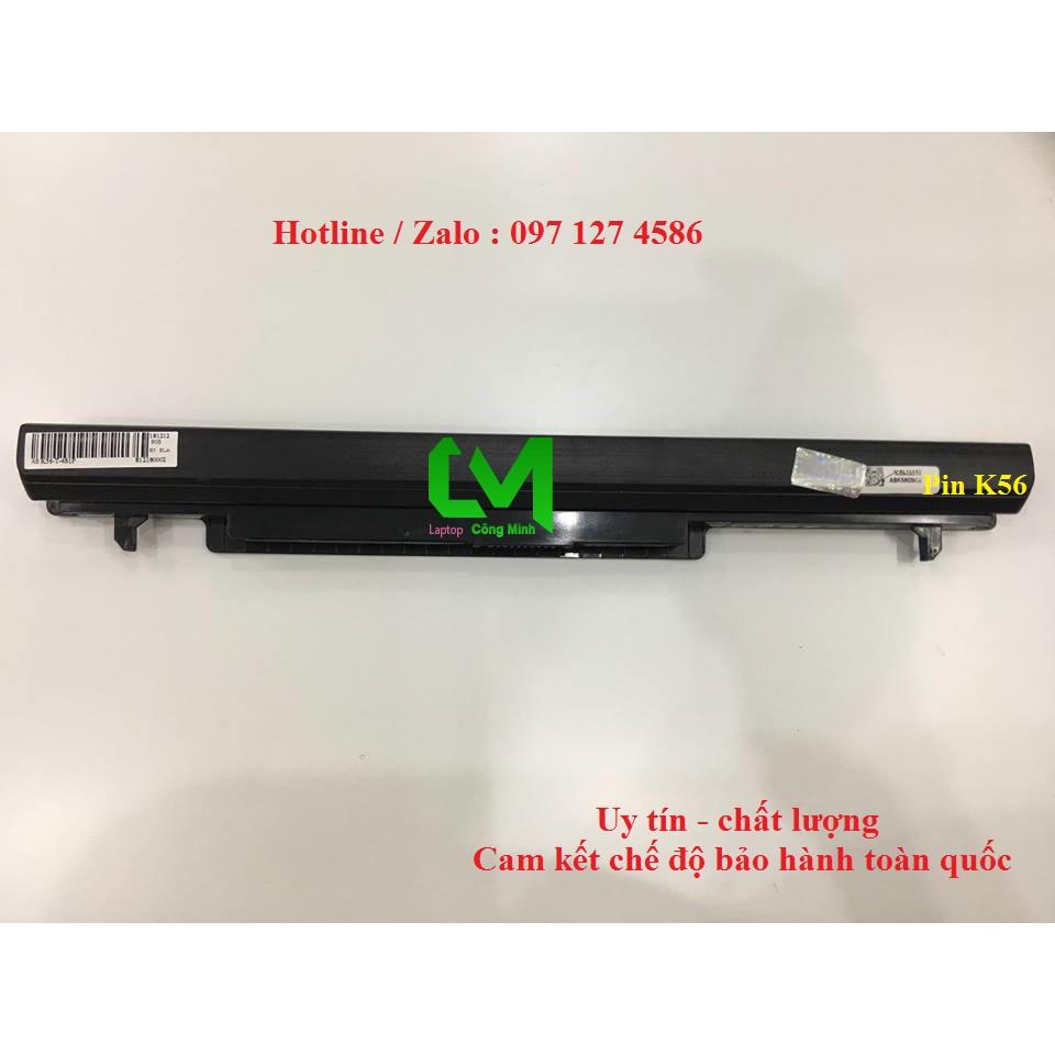 Pin Laptop Asus K46 K46C K46CA K46CB K46CM K46V K56 K56C K56CA K56CB K56CM K56V Giá chỉ 350.000₫