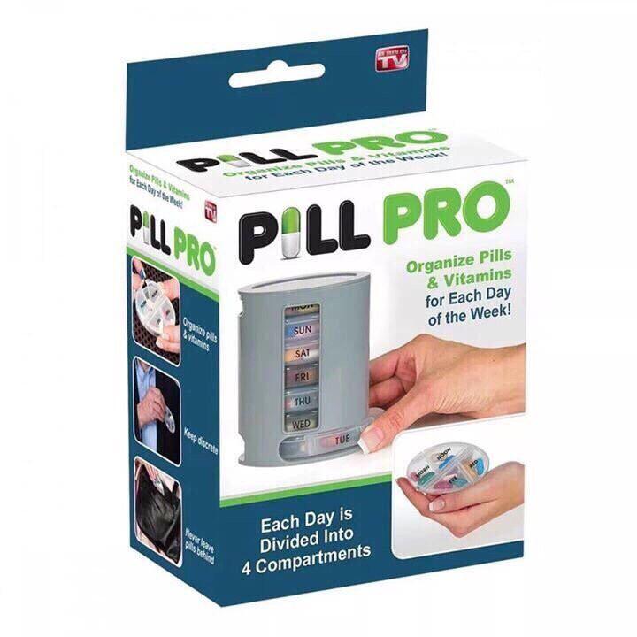 Hộp Chia Thuốc Thông Minh Cả Tuần Cho Người Cao Tuổi Pill Pro