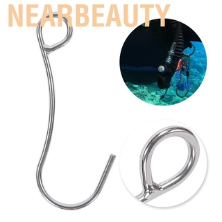 Nearbeauty Heavy Duty Stainless Steel Scuba Dive Current Single Hook