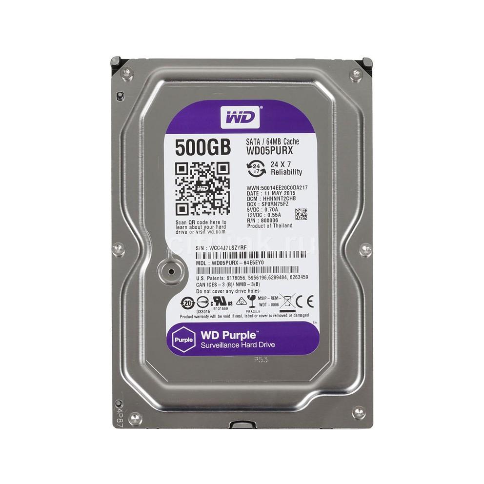 Google [linh kiện] ổ cứng HDD 500g western chuyên camera purple( tím) hàng tháo máy [máy tính] aidien2017