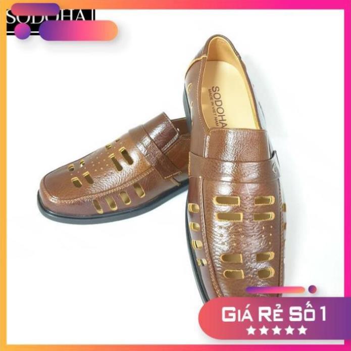 ( Bewreak) Giày Tây Nam Da Bò Đục Lỗ SODOHA SDH2889 . nước ngoài * - Xả22