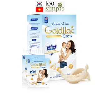 Combo sữa non tổ yến GOLDILAC GROW thumbnail