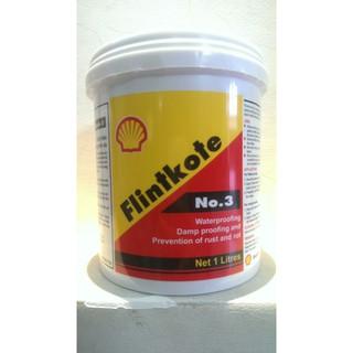Chống thấm hồ cá koi/💥 Sơn chống thấm hồ nước/✨Shell Flinkote/ Chống thấm đa năng màu đen Shell Flinkote 1L