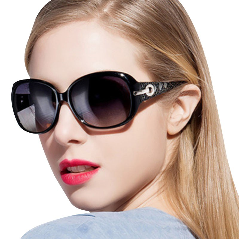Kính mát chống tia UV400 với tròng kính rộng 60mm