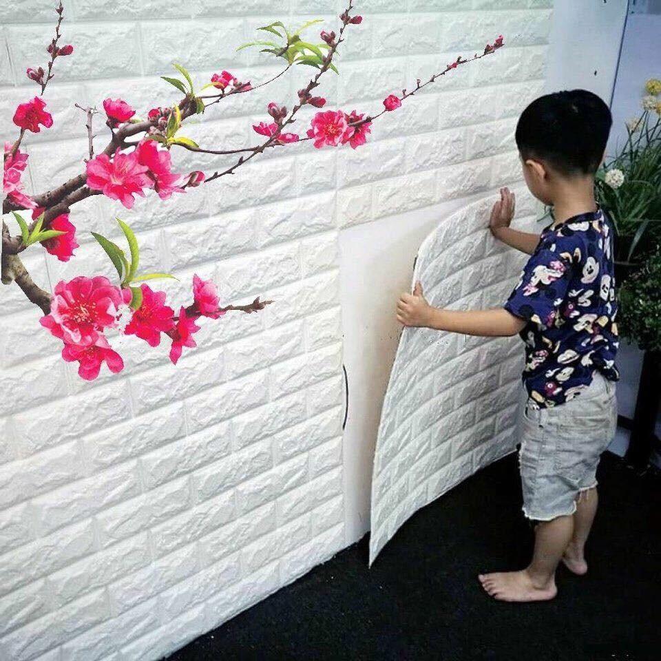 10 tấm xốp dán tường giả gạch 3d màu trắng gía 33,9k - 3527213 , 841762220 , 322_841762220 , 339000 , 10-tam-xop-dan-tuong-gia-gach-3d-mau-trang-gia-339k-322_841762220 , shopee.vn , 10 tấm xốp dán tường giả gạch 3d màu trắng gía 33,9k