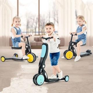 Xe scooter đa năng 5 trong 1 Freekids DGN5 cho bé