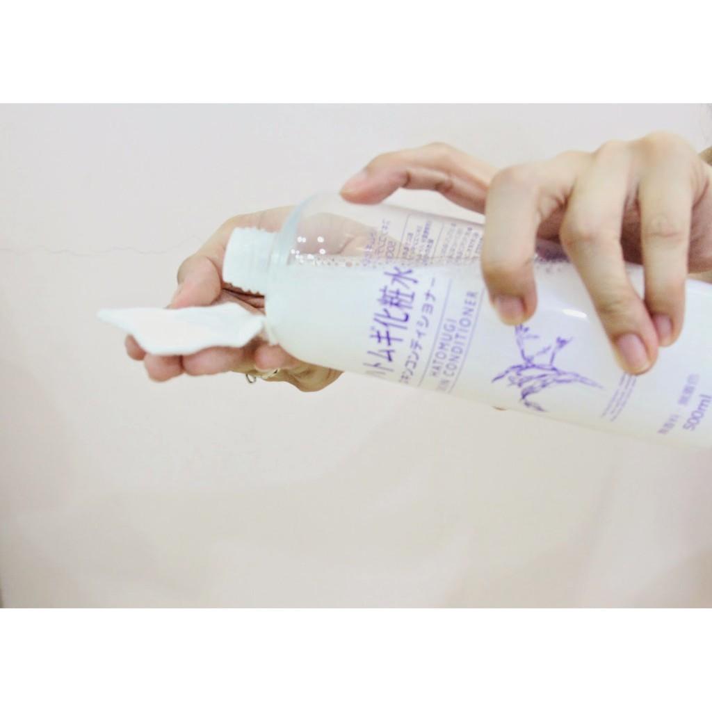 Nước Hoa Hồng Ý Dĩ Naturie Skin Conditiner 500ml Nhật Bản