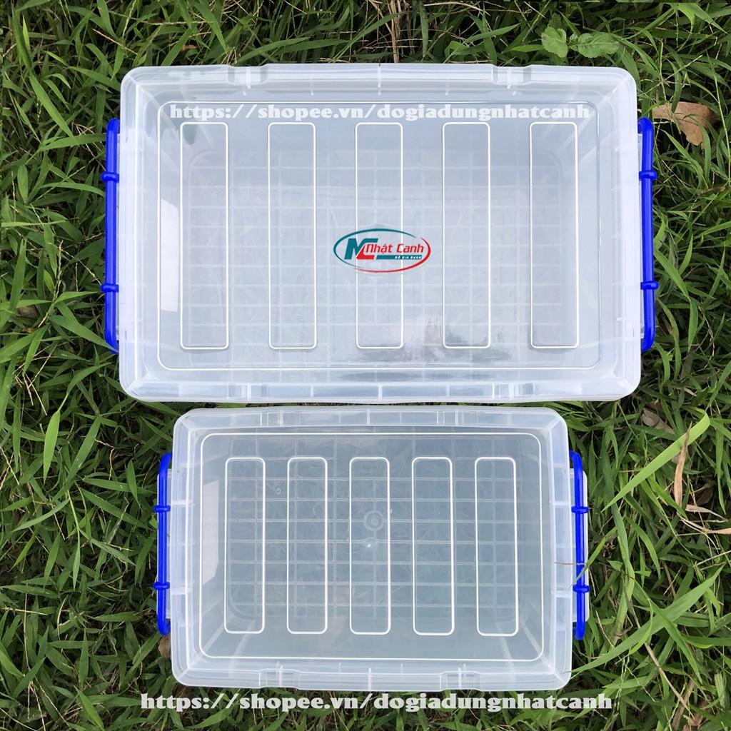 Hộp bảo quản thực phẩm cao cấp bằng nhựa Song Long tiện dụng