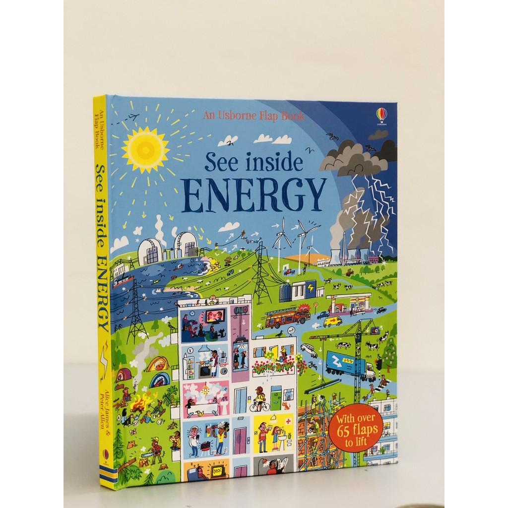 Sách See Inside Energy - Học tiếng anh ( sách lật mở )