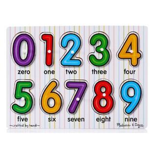 [ HOT DEAL ] Đồ chơi bảng số có núm cầm họa tiết thông minh cho bé
