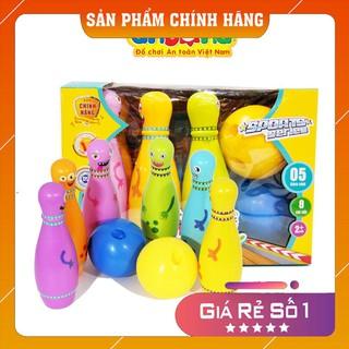 𝓢𝓱𝓸𝓹 𝓤𝔂 𝓣𝓲́𝓷- Đồ chơi Bowling vui nhộn cho bé- Hàng Việt Nam an toàn cho bé