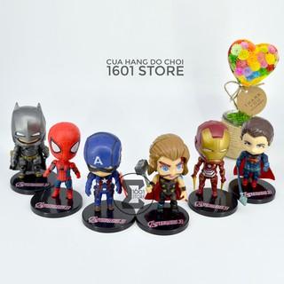 Đồ chơi mô hình các Siêu Anh Hùng Avengers (Bộ 6 con)