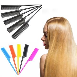 1 lược chải tóc đuôi nhọn tiện lợi màu ngẫu nhiên thumbnail