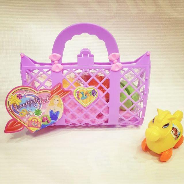 Bộ đồ chơi túi xách hoa quả (3322)