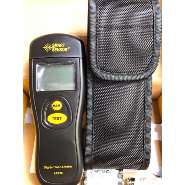 Máy đo tốc độ vòng quay không tiếp xúc Smart Sensor AR926 - 3376258 , 1127654475 , 322_1127654475 , 619000 , May-do-toc-do-vong-quay-khong-tiep-xuc-Smart-Sensor-AR926-322_1127654475 , shopee.vn , Máy đo tốc độ vòng quay không tiếp xúc Smart Sensor AR926