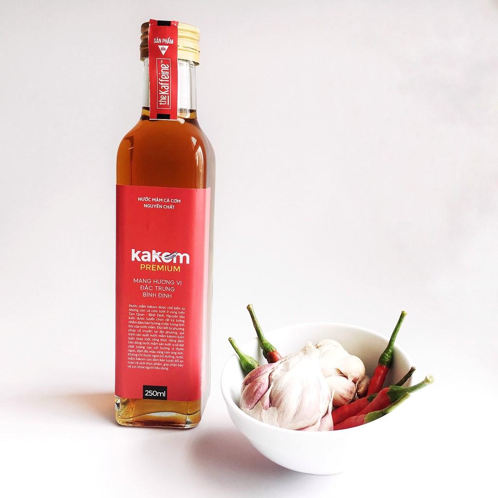 Nước mắm Truyền Thống Premium Kakom 250ml - The Kaffeine Bấm theo dõi shop nhận ngay Voucher 10%