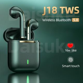 Tai nghe bluetooth 5.0 không dây J18 TWS âm thanh nổi HIFI chất lượng cao tiện dụng
