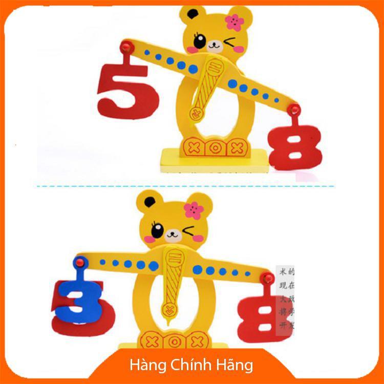 Đồ chơi cân gỗ thăng bằng đáng yêu cho bé_Đảm bảo chất lượng