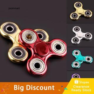 ★Ready Stock★Tri-Hand Spinner EDC Spin Stress Reducer Focus Desk Fidget Finger Toy Kids Gift