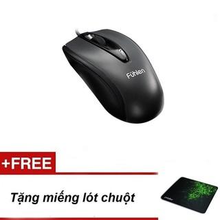 Yêu ThíchChuột máy tính Fuhlen L102 KM miếng lót chuột độ bám cực tốt