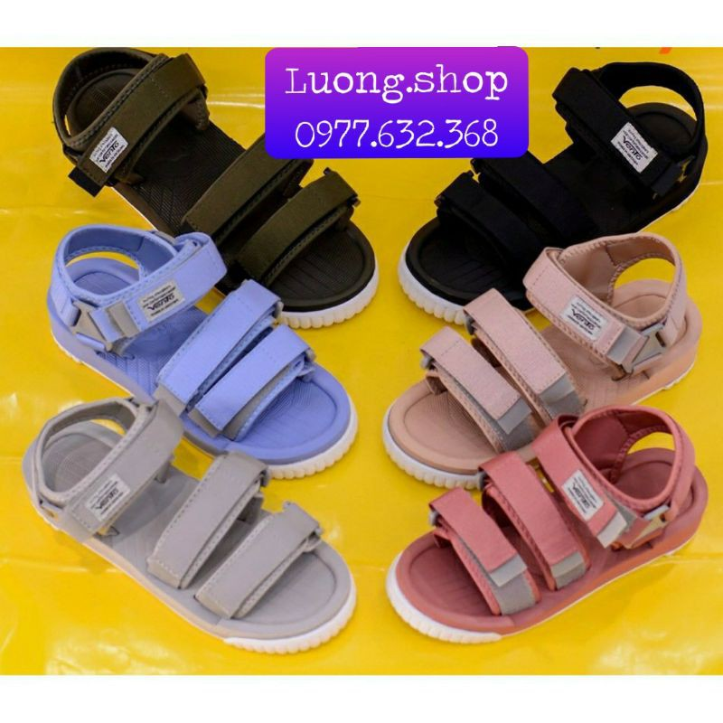 Sandal Vento Nam nữ xuất khẩu NV- SD 9801 xám