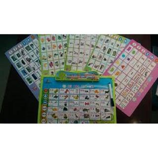 Bảng học chữ đa năng 11 trong 1, bảng chữ cái điện tử (kèm pin)