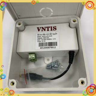 Bộ lưu điện mini liền nguồn VNTIS 5v-2A và 12v-2A|bộ lưu điện|bộ lưu điện camera|bộ lưu điện ups|bo luu dien