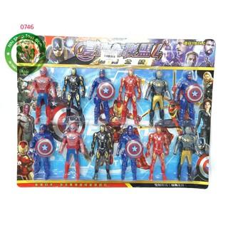 Vỉ 12 siêu anh hùng 915