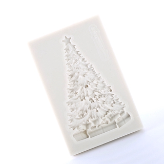 Xmas Tree Silicone Fondant Mould Cake Decor Sugar Chocolate Baking Mold