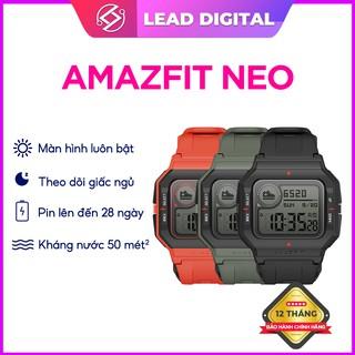 Đồng hồ Thông minh Amazfit NEO - Hàng Chính Hãng - Bảo hành điện tử 12 tháng